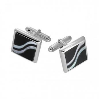 Onyx/Mother of Pearl Cufflinks