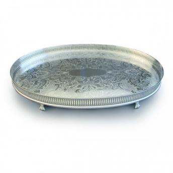 Oval Classic Gallery Tray