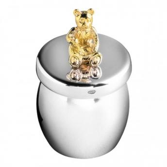 Sterling Silver Teddy Box