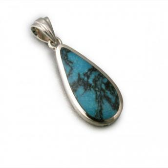 Turquoise or Jade Pendant