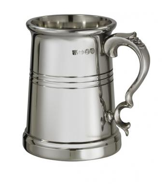Extra Heavy Vanguard 1 Pint Pewter Tankard